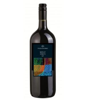 Вино Merlot Veneto Serenissima чер. сухе 1.5 л