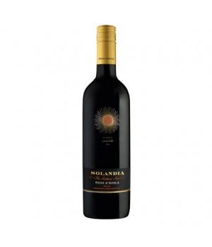 Вино Solandia Nero d'Avola черв.сухе 0,75 л