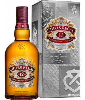 Віскі Chivas Regal 12 р. 0.7 л