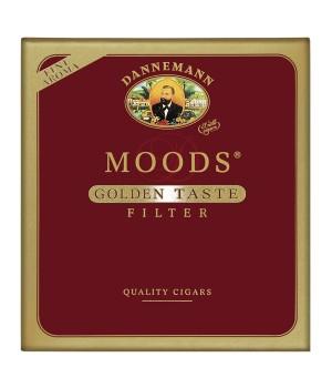 """Sigars Moods Golden Taste Filter""""10"""