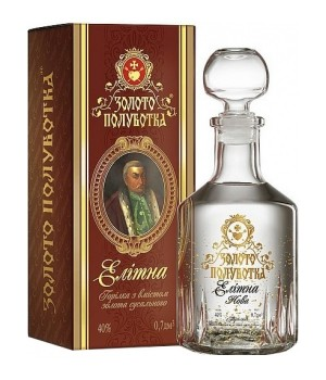 Vodka Zoloto Polubotka Elite Countess 700 ml