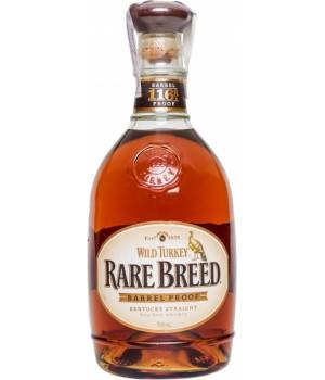 Bourbon Wild Turkey Rare Breed 750ml