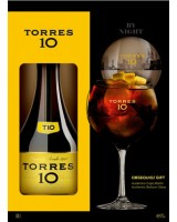 Бренді Torres 10 років + 1 стакан 0,7 л