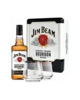 Віскі Jim Beam White + 2 келиха 0.7 л