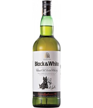 Whiskey Black and  White 700 ml