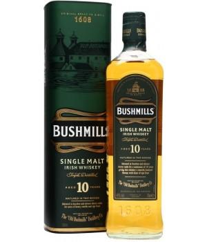 Whiskey Bushmills Single Malt 10 Y.O. (in tube), 700ml
