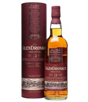 Whiskey GlenDronach 12 Y.O. Original (in tube), 700ml