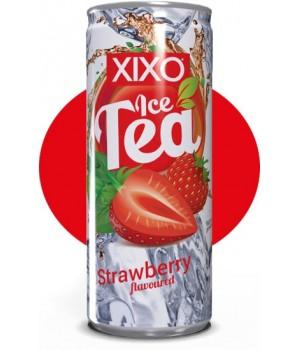 """Холодний чай XIXO """"Strawberry"""" 0.25 л"""